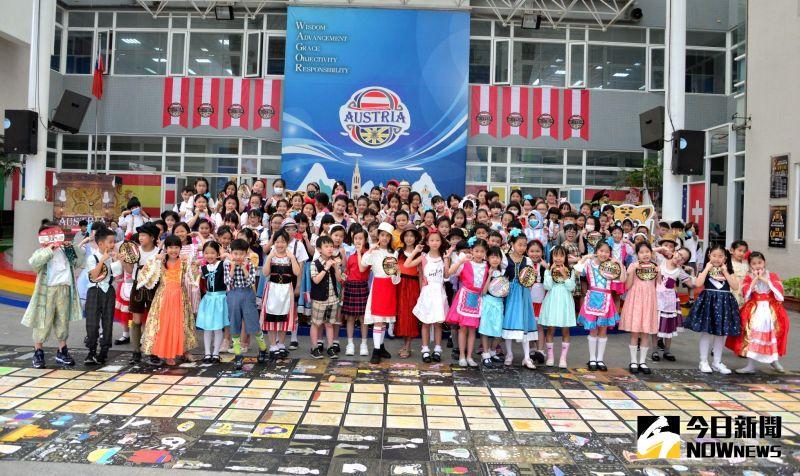 歡度「國際級」兒童節    葳格小學變身奧地利師生偽出國
