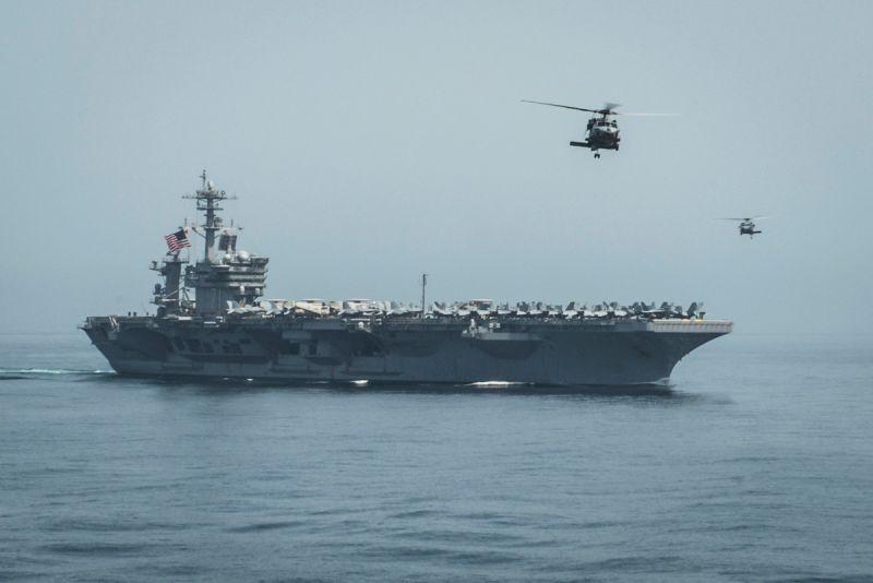 美國航母/羅斯福號/美軍/美國海軍/航空母艦/USS Theodore Roosevelt