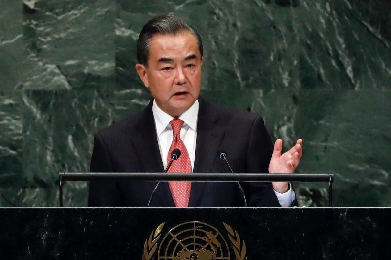 ▲中國外交部長王毅。(圖/美聯社/達志影像)