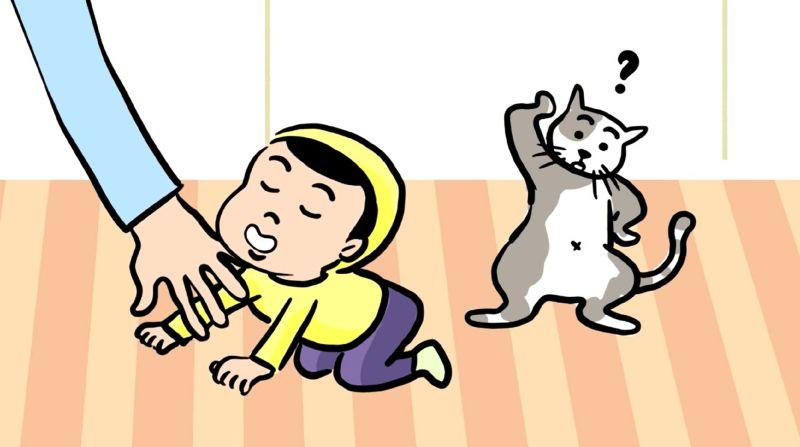 ▲蔣偉文在兒童節推出快閃卡通。(圖/艾迪昇傳播提供)