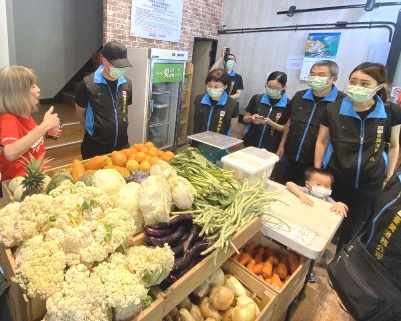 ▲台灣港務公司舉辦為愛再創食材力量活動。(圖/記者黃守作攝,2021.04.06)