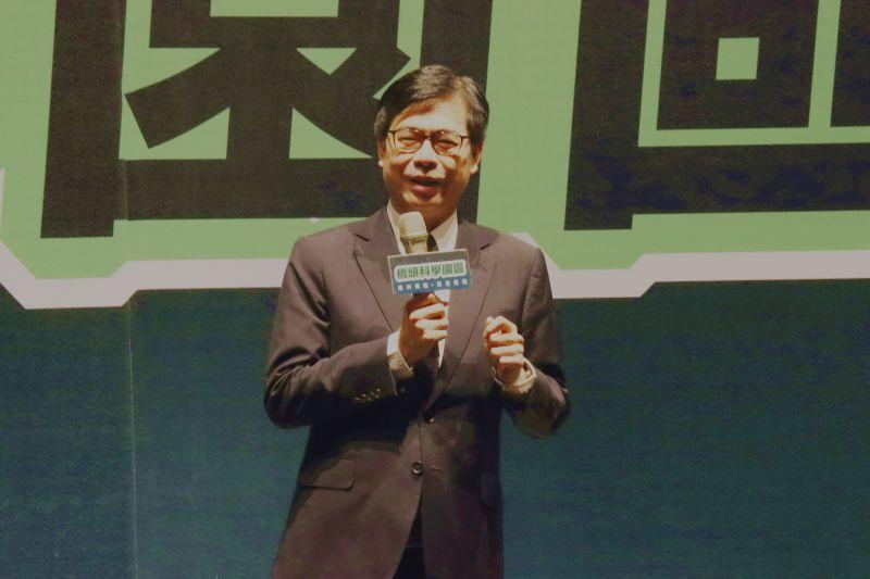 ▲高雄市長陳其邁。(圖/記者鄭婷襄攝,2021.04.07)