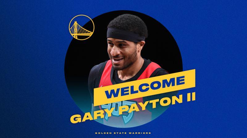 傳奇控衛「手套」Gary Payton之子之子Gary Payton II加盟勇士