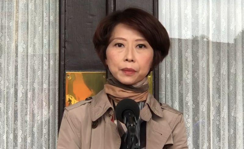 民進黨陳亭妃重申她支持林佳龍請辭決定(圖/陳亭妃辦公室提供)