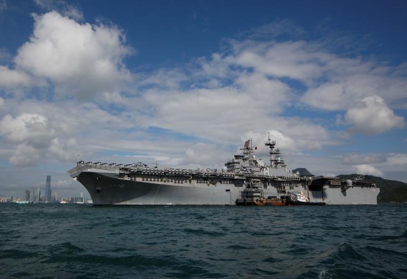 ▲美國兩棲攻擊艦梅金島號(USS
