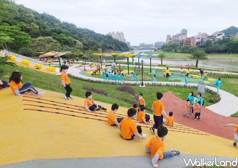 ▲灣潭兒童遊戲場是小朋友的天地。(圖/Taipei