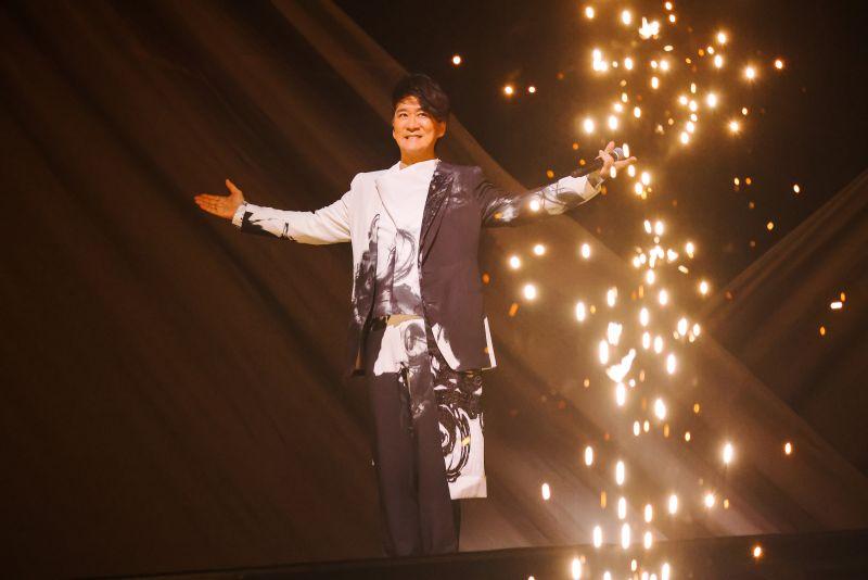 ▲周華健在台北小巨蛋舉辦「少年俠客」巡迴演唱會。(圖/滾石唱片提供)