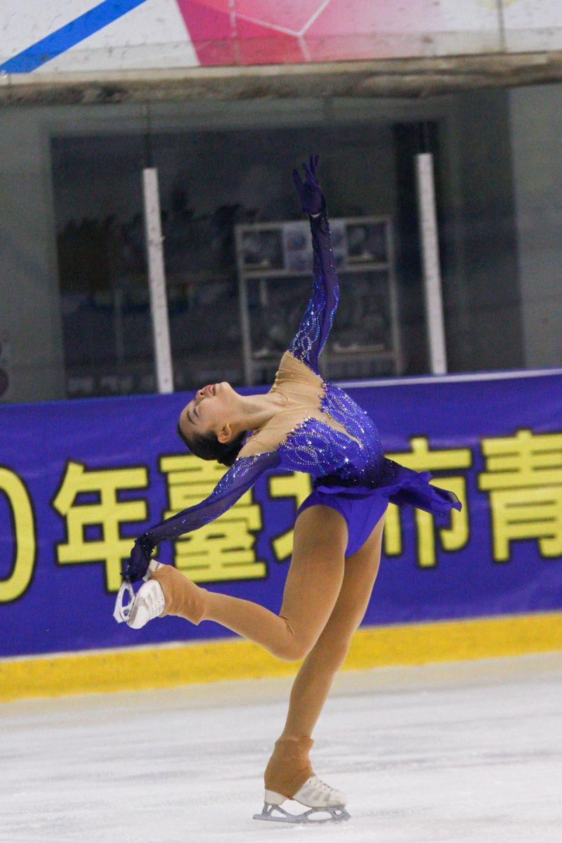 ▲台灣「滑冰一姐」丁子涵。(圖/官方提供)