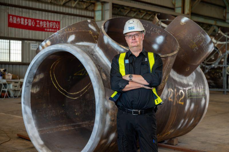 ▲學徒出身的Lars,自1983年接觸焊接已累積37年經驗。(圖/資料照片)