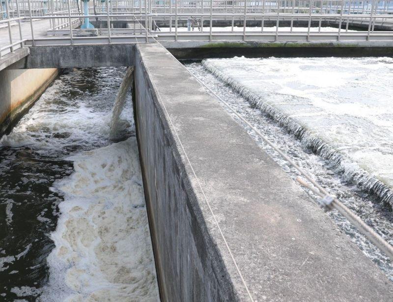 ▲鳳山水庫淨水場處理來自東港溪水源,以符合飲用水標準,以提升大高雄地區用水品質及供水穩定度。(資料照/記者黃守作攝)