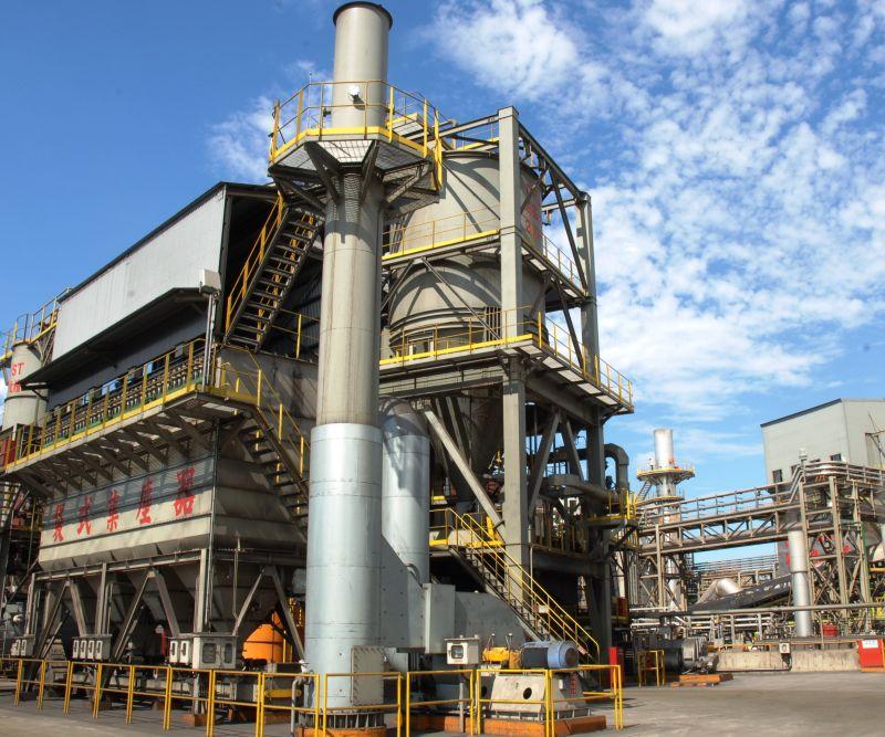 ▲中鋼公司積極推動各項節能減碳工作,近年的環保改善成效亦有顯著成果。(中鋼公司提供)
