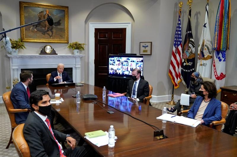 半導體峰會 白宮:與會企業籲提升供應鏈透明度