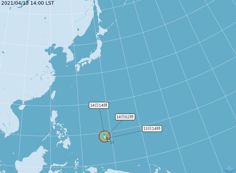 太平洋熱帶低壓成形 氣象局:台灣水氣恐更少
