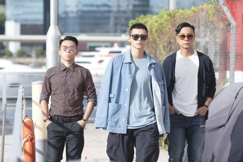 ▲《不日成婚》由岑珈其(左)、陳家樂(中)、朱栢康(右)領銜主演。(圖/華映娛樂提供)