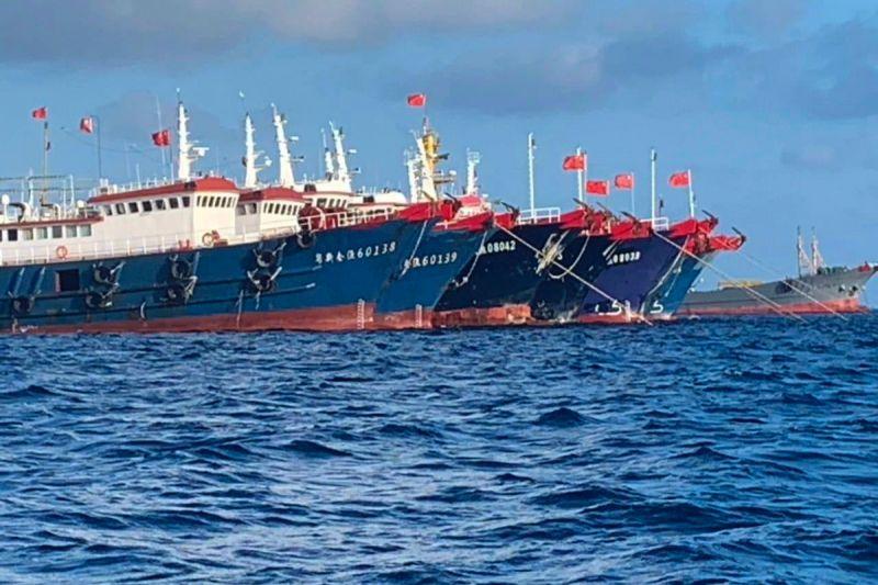 中國漁船 南海