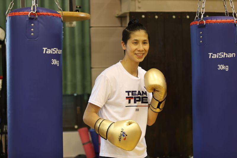 ▲東京奧運倒數100天,台灣女拳王林郁婷笑說,「昨晚想到奧運要到了,興奮到失眠。」。(圖/國訓中心提供)
