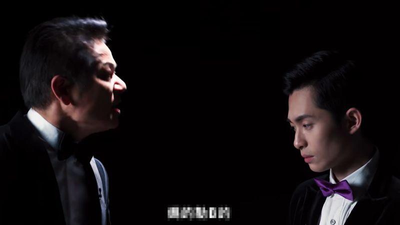 ▲徐乃麟(左)以不雅字眼辱罵博恩。(圖/STR