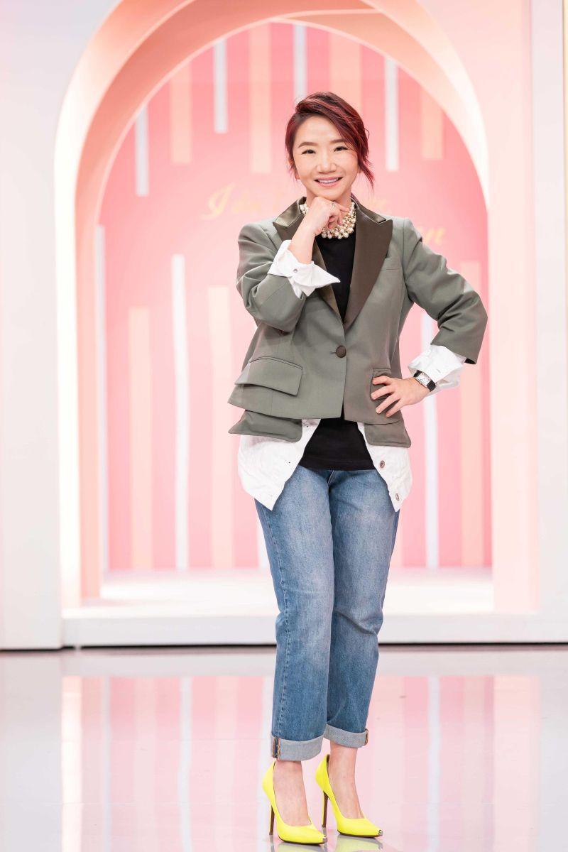 ▲陶晶瑩難忘趙少康捧場演唱會。(圖/TVBS)