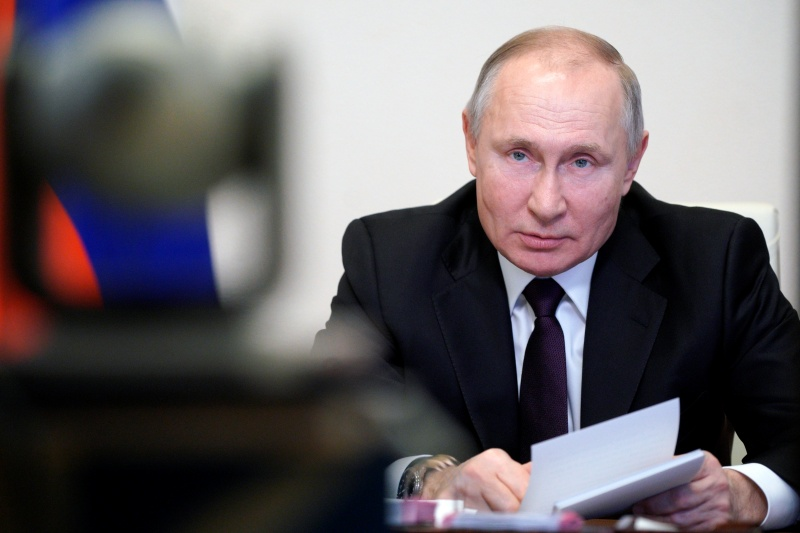 ▲美國宣布對俄羅斯實施制裁,以回應俄國對美國實施選舉干預和網路攻擊,料將引發俄羅斯報復。圖為俄國總統普丁。資料照。(圖/美聯社/達志影像)