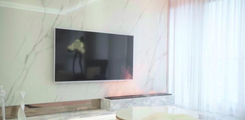 ▲知名美妝部落客夏曼娣(Mandy)日前開箱自己剛買的新房,其整體內部所走的風格是法式輕奢簡約風。(圖/夏曼娣YT)