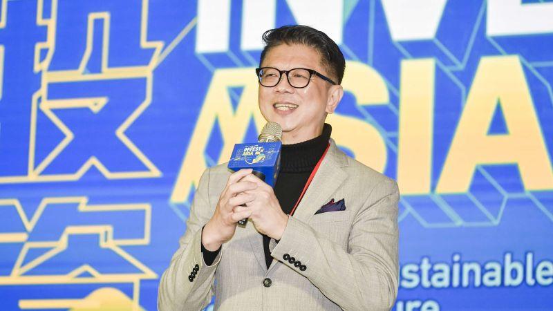 ▲星展銀行台灣總經理林鑫川表示,雖然星展在台灣起步較晚,但要發展的空間還很大,也期許星展台灣成為「三接」銀行,意即接地氣、接國際、接人才。(圖/星展銀行提供)