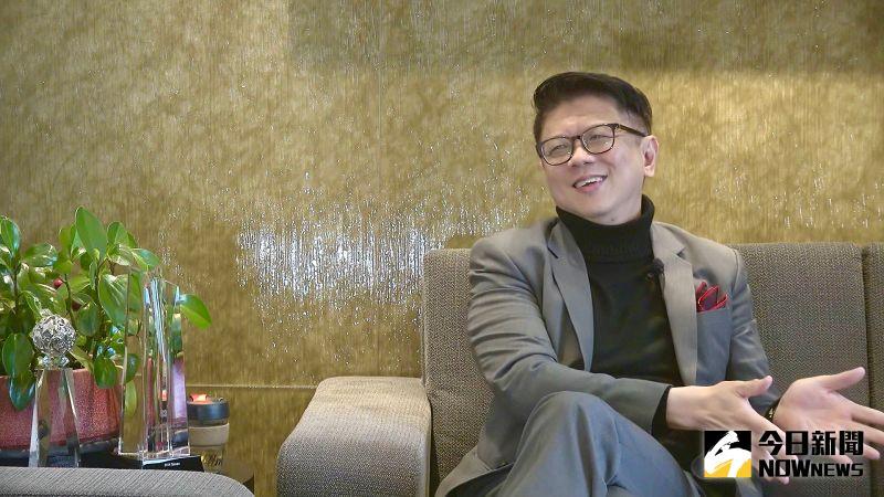 ▲星展銀行台灣總經理林鑫川認為台灣具有6大優勢,並看好台灣產業發展前景。(圖/記者王嘉鴻攝)