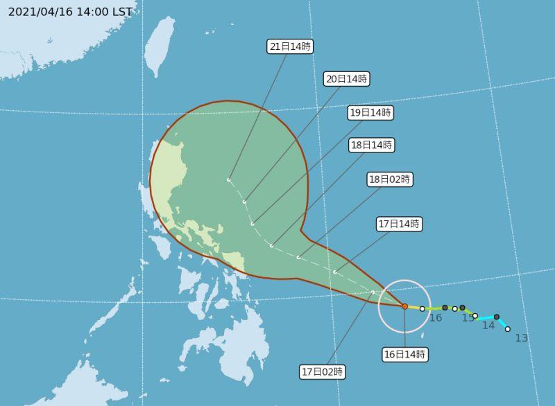 颱風舒力基可能為東半部帶水氣 難解中南部旱象