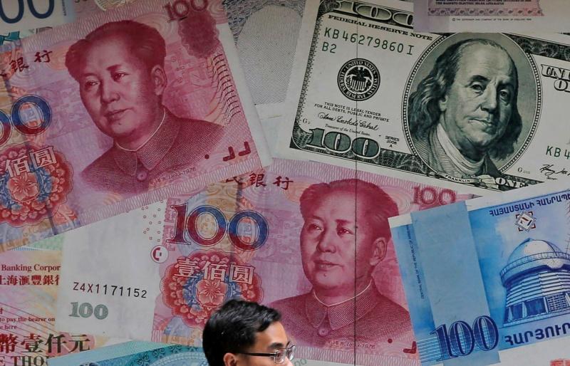 ▲美國財政部的匯率操縱半年度報告,沒有將任何國家列為匯率操縱國,有外媒分析,相較於川普時期,這意味著白宮政策的轉變。示意圖。(圖/美聯社/達志影像)