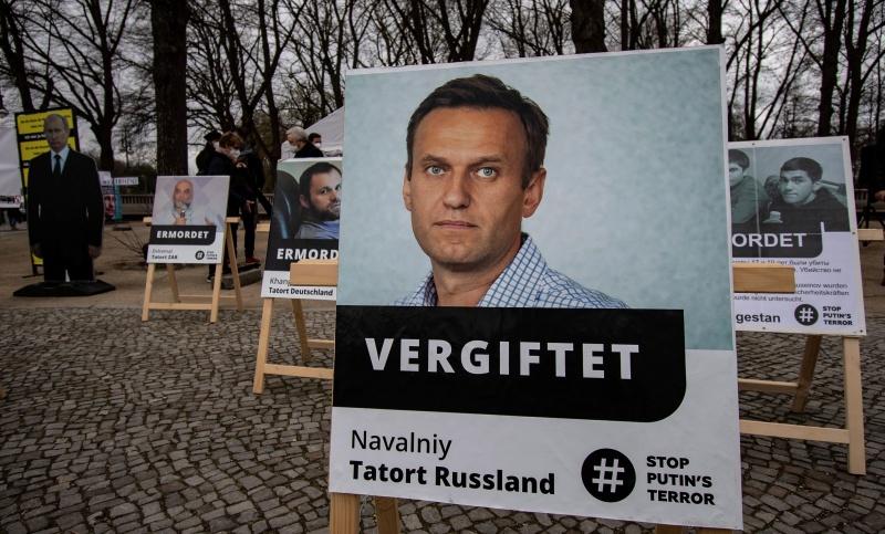 ▲身陷囹圄的俄羅斯異議人士納瓦尼(Alexei Navalny)聽從私人醫生建議,宣布停止已持續3週的絕食抗議。他並對支持者表達感謝之意。資料照。(圖/美聯社/達志影像)