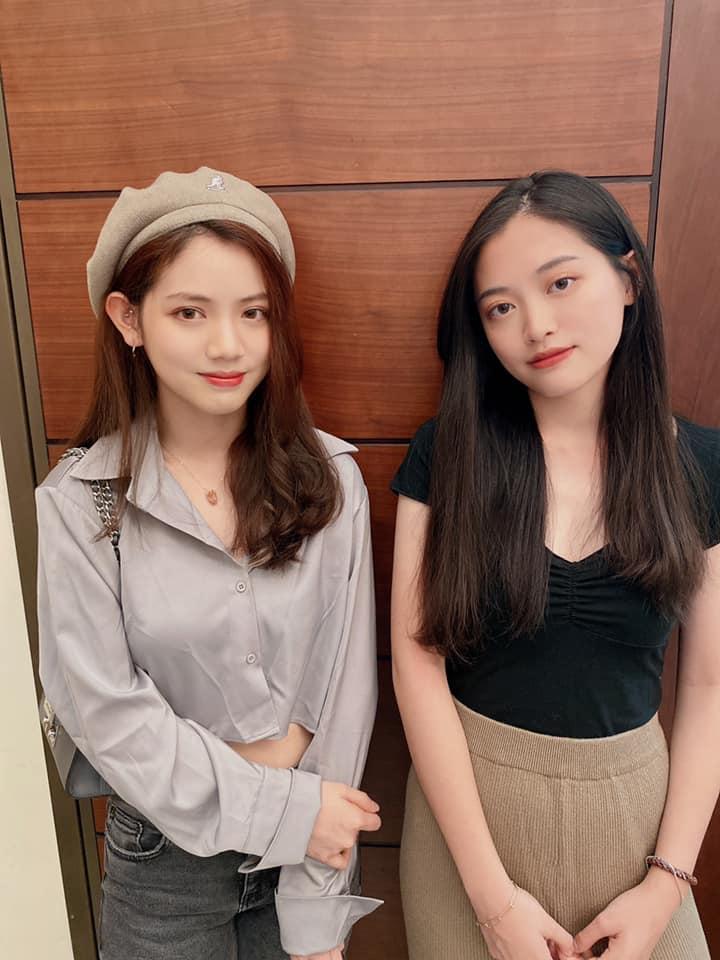▲王彩樺大女兒(左)、小女兒遺傳媽媽好基因。(圖/翻攝王彩樺臉書)