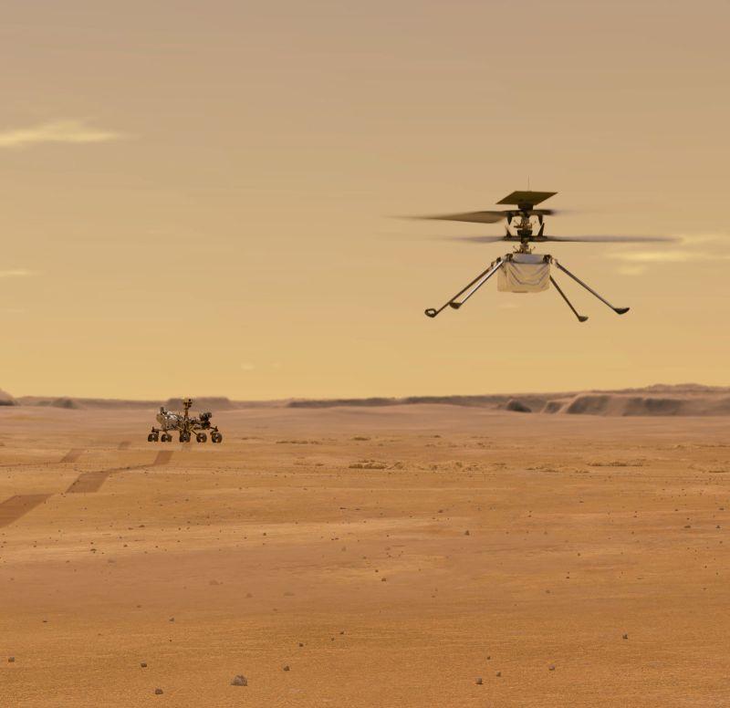 火星直升機創新號