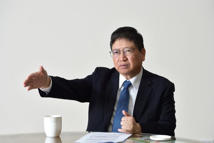 新竹縣長楊文科說明財政規劃