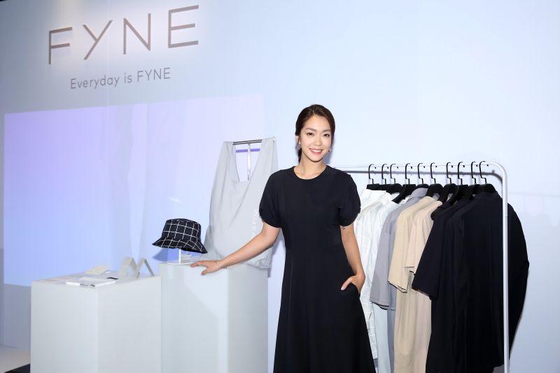▲李霈瑜(大霈)今(20日)出席永續時尚品牌活動,並分享自己的永續環保概念。(圖/FYNE提供)