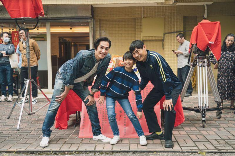 ▲藍正龍(左起)、阮柏皓、夏靖庭飾演祖孫三代。(圖/紅衣小女孩股份有限公司提供)