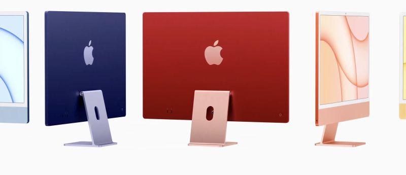 ▲蘋果4大新品曝光!「7色iMac」絢麗登場,iPhone12推新色。(圖/翻攝自蘋果官網)