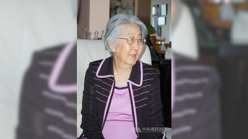 ▲國父孫中山孫女孫穗華16日在美國加州逝世,享耆壽96歲。圖攝於2011年。(中央社檔案照片)