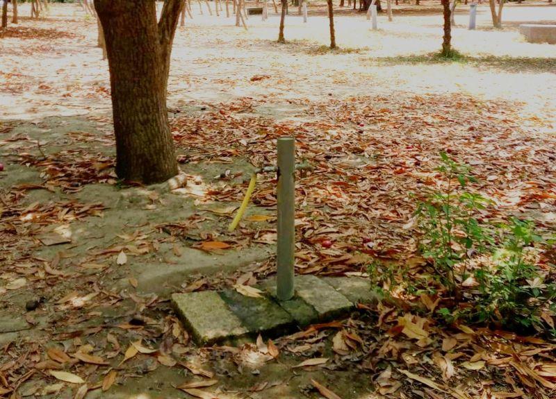 台南市政府宣布,4月22日起台南市76座大型公園,公廁以外區域暫停供水。(圖/台南市政府提供)