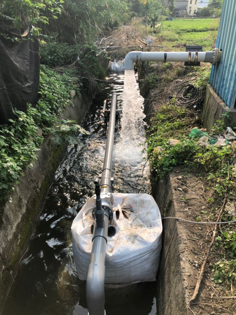 ▲北水局自即日起取用白沙屯圳井水,併入新竹淨水場的原水系統。(圖/北水局提供)
