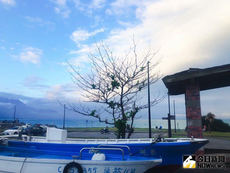 ▲飯店單車管家陪同暢遊花蓮,一睹七星潭的美景。(圖/記者劉雅文拍攝)