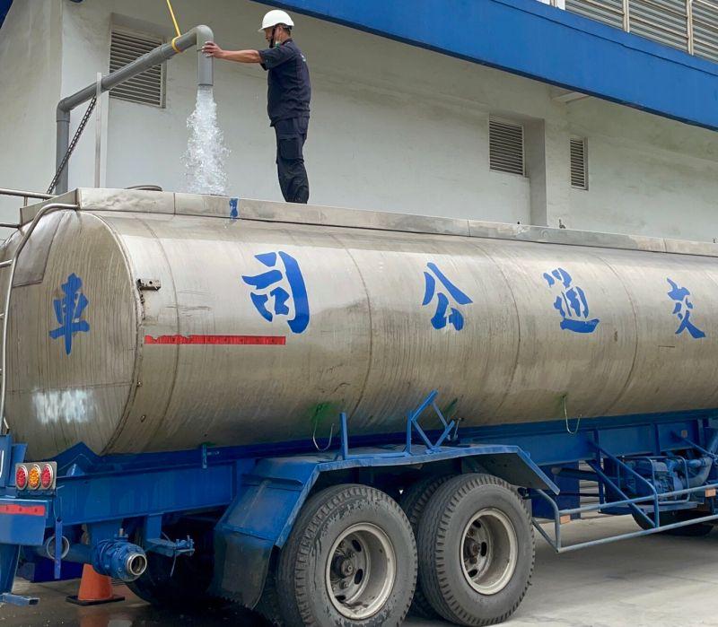 完成滲漏檢測不浪費 華膳空廚捐新竹產業2500噸水源