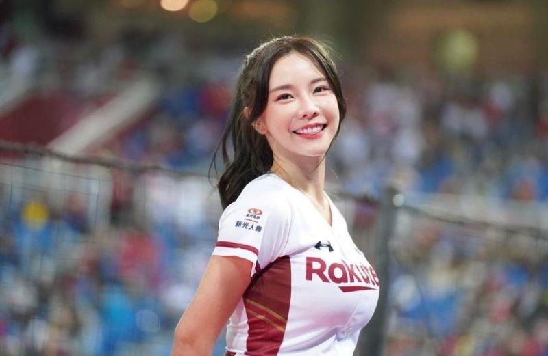 ▲巫苡萱是職棒人氣啦啦隊員。(圖/翻攝巫苡萱IG)