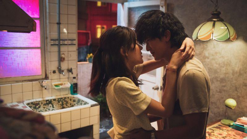 ▲許瑋甯(左)、邱澤《當男人戀愛時》7大取景地點曝光。(圖/金盞花大影業)