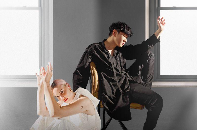 ▲林俊傑與「英倫冠軍歌姬」Anne-Marie合作。(圖/華納音樂提供)