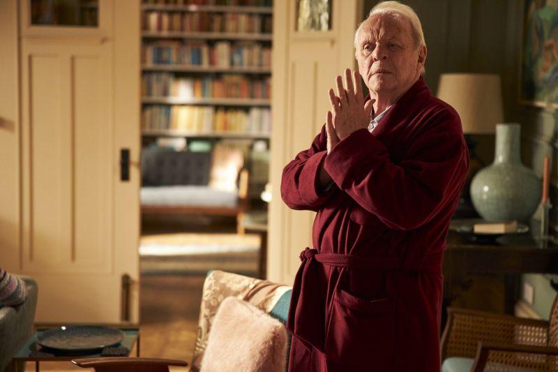 ▲83歲安東尼霍普金斯獲頒男主角,他也是奧斯史上最年長影帝。(圖/劇照)
