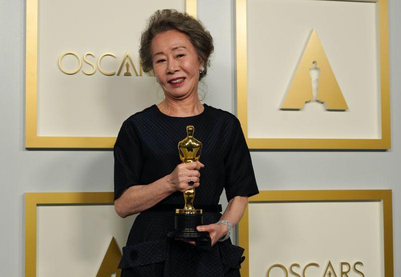 ▲尹汝貞是本屆奧斯卡「最佳女配角」。(圖/美聯社)