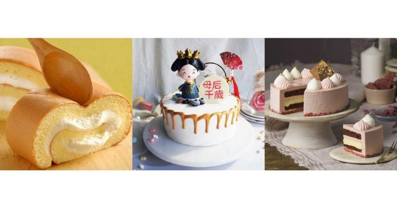 ▲樂天市場今(2021)年統籌全台名店,橫跨多種蛋糕口味,要讓天下媽媽們備受尊寵。(圖/品牌提供)