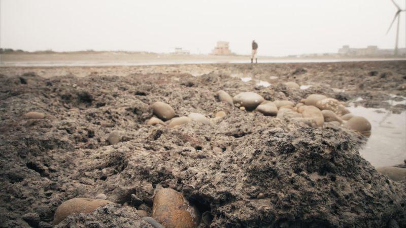 ▲大潭藻礁不僅有7600年歷史,更是全球唯一在淺水域沙灘上生成的藻礁海岸,特殊的地質景觀與豐富的生態多樣性,更被國際期刊認證具世界級自然遺產的地位。(圖/記者詹皓帆拍攝)
