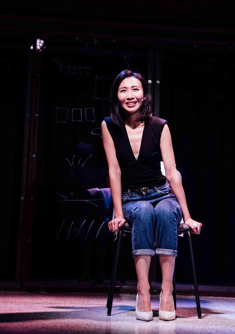 ▲王安琪表演緊勾觀眾情緒。(圖/大慕影藝提供)