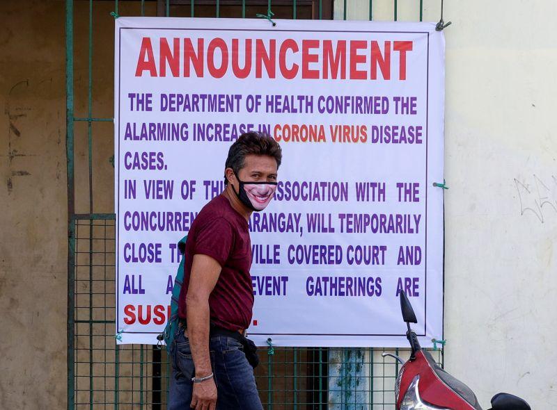 抑制Delta病毒肆虐 菲律賓馬尼拉下週封城