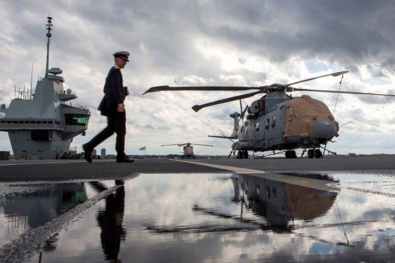 台海緊張升高 英國航艦訪亞洲將與10多國軍演